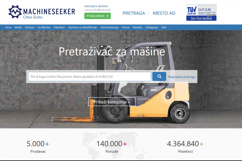 Machineseeker Montenegro