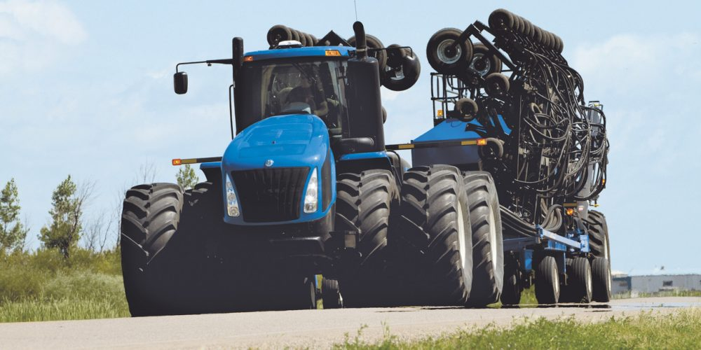 New-Holland-T9-670 Traktor blau