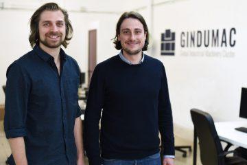 Gindumac-Gründer Janek Andre (links) and Benedikt Ruf (rechts)
