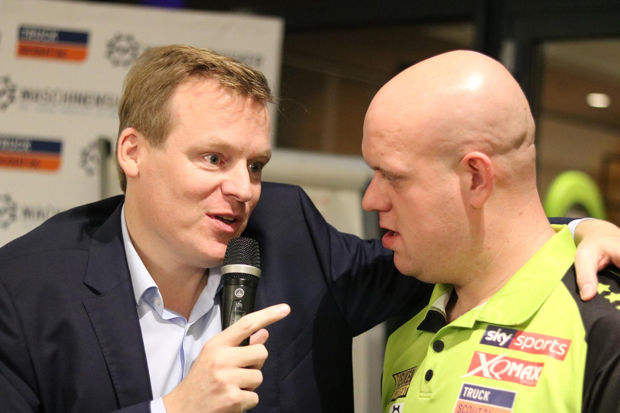 Michael van Gerwen Sven Schmidt